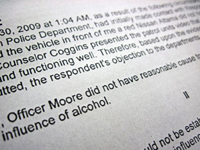 Knowing the DUI System -  George W. Woodworth will file the proper motions...